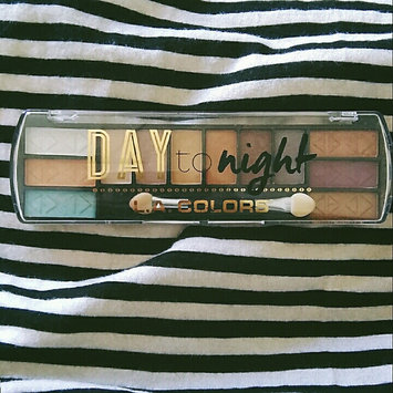 Photo of L.A. Colors Day to Night 12 Color Eyeshadow uploaded by Giselle R.