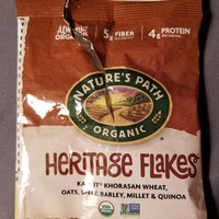 Nature's Path Organic Heritage Flakes Cereal, 13.25 oz, (Pack of 6) uploaded by naf C.