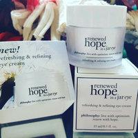 philosophy renewed hope in a jar eye refreshing & refining eye cream uploaded by alexandria j.