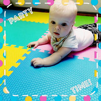 Bulk Buys Multi-Use Foam Play Mat with Interlocking Squares, Case of 1 uploaded by 🖤 Alice 🦇 G.