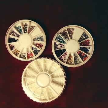 Photo of Bundle Monster 5 Nail Art Manicure Wheels W 3D Designs Glitters Rhinestones Beads uploaded by Star M.