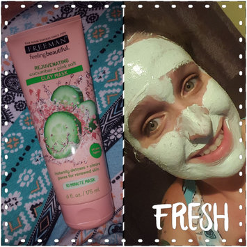 Photo of Freeman Feeling Beautiful Rejuvenating Clay Mask, Cucumber + Pink Salt 6 oz uploaded by Lindsey C.