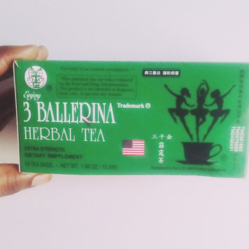 Photo of Truong Giang Corp 3 Ballerina Tea Dieters' Drink Extra Strength 648 Tea Bags (In 36 Boxes) ( Value Bulk Multi-pack) uploaded by ⭐⭐⭐Abby⭐⭐⭐ G.