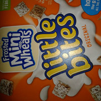 Kellogg's Mini-Wheats Bite Size Frosted Cereal uploaded by Shelby -.