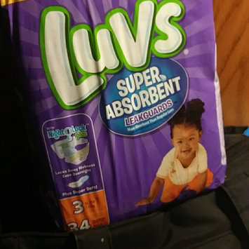 Photo of Stretch Luvs Super Absorbent Leakguards Diapers Size 3 34 Count  uploaded by Brooklyn A.