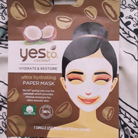 Yes to Coconut Hydrate & Restore Ultra Hydrating Sheet Mask uploaded by Monique D.