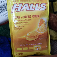 HALLS Honey-Lemon Drops Triple Action uploaded by Jennifer P.