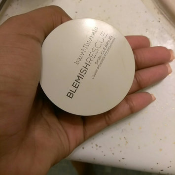 Photo of bareMinerals Blemish Rescue Skin-Clearing Loose Powder Foundation uploaded by Tiyanna H.