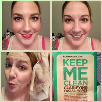 Formula 10.0.6 Keep Me Clean Clarifying Facial Wipes uploaded by ashleigh w.