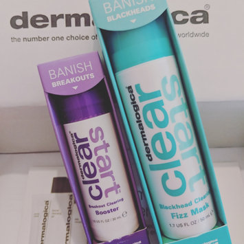 Photo of Dermalogica Clear Start Blackhead Clearing Fizz Mask uploaded by Becca