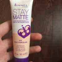 Rimmel London Stay Matte Liquid Mousse Foundation uploaded by Julia B.