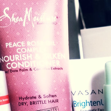 Photo of SheaMoisture Peace Rose Oil Complex Nourish & Silken Conditioner uploaded by Chrysalis P.