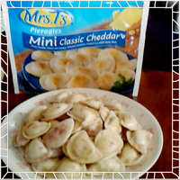 Mrs. T's Mini Pierogies Classic Cheddar - 56 CT uploaded by Diane C.