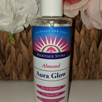 Heritage Store Aura Glow Massage Oil, Almond, 64 Ounce uploaded by suzzi G.