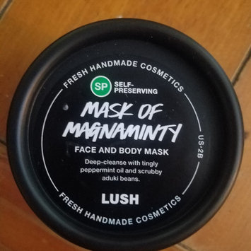 Photo of LUSH Mask of Magnaminty uploaded by Renee H.