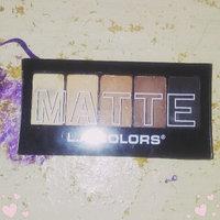 L.A. Colors 5 Color Matte Eyeshadow Palette uploaded by Amelia H.