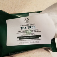 THE BODY SHOP® Tea Tree Skin Clearing Facial Wipes uploaded by Melissa S.