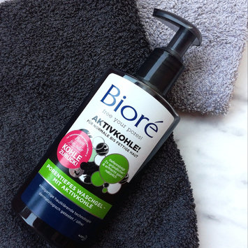 Photo of Bioré Deep Pore Charcoal Cleanser uploaded by Jovana N.
