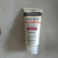 Neutrogena® Clear Face Break-Out Free Liquid Lotion Sunscreen Broad Spectrum SPF 30 uploaded by Savannah M.