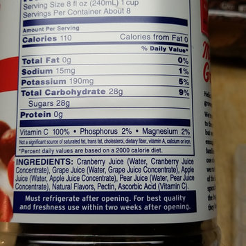 Photo of Ocean Spray 100% Juice Cranberry uploaded by Jodie Z.