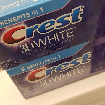 Photo of Crest 3D White Arctic Fresh Whitening Toothpaste uploaded by Michelle V.