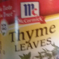 McCormick® Thyme Leaves uploaded by Marquita S.