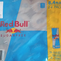 Red Bull Sugarfree uploaded by Beauty R.
