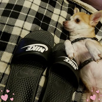 Nike Benassi Swoosh Slides uploaded by Selena L.