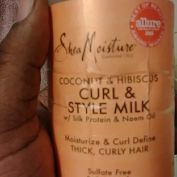 Photo of SheaMoisture Coconut & Hibiscus Curl & Style Milk uploaded by Dina S.