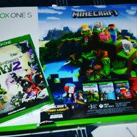 Xbox One S 500GB Minecraft Favorites Bundle, White uploaded by Mandy S.
