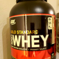 Optimum Nutrition Gold Standard 100% Whey Protein Chocolate Peanut Butter uploaded by Avi c.