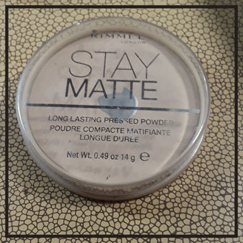 Photo of Rimmel London Stay Matte Pressed Powder uploaded by Tina B.