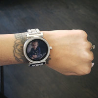 Sofie Pave Rose Gold-Tone Smartwatch uploaded by Veronica V.