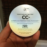 IT Cosmetics® Your Skin But Better™ CC+ Airbrush Perfecting Powder Illumination™ with SPF 50+ uploaded by Christy M.