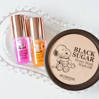 SKINFOOD Black Sugar Honey Mask Wash Off uploaded by Hadjer👑👑