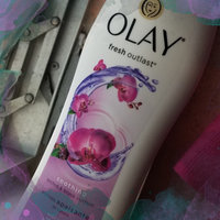 Olay Fresh Outlast Soothing Orchid & Black Currant Body Wash uploaded by Izamari M.