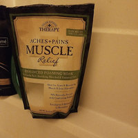 Village Naturals Therapy Aches+Pains Muscle Relief Foaming Bath Soak with Epsom Salt, 36 oz uploaded by Leia C.