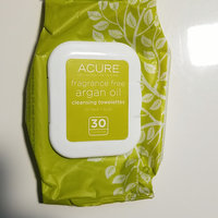 Acure Organics Unscented Argan Oil Cleansing Towelettes for Face & Body, 30 ea uploaded by Alison C.