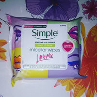 Simple® Micellar Makeup Remover Wipes uploaded by April F.