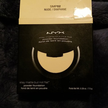 Photo of NYX Stay Matte But Not Flat Powder Foundation uploaded by andrea t.
