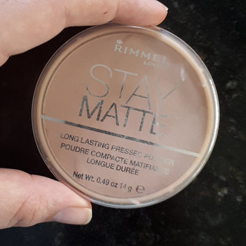 Photo of Rimmel London Stay Matte Pressed Powder uploaded by gabriela h.