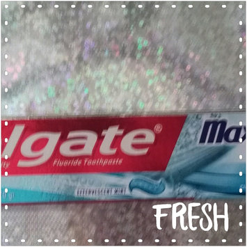 Photo of Colgate® MaxFresh® WITH MINI BREATH STRIPS Clean Mint Fluoride Toothpaste uploaded by Ashley W.