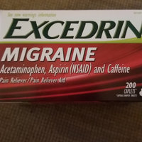 Excedrin Migraine Pain Reliever Caplets uploaded by andrea t.