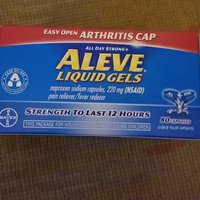 Aleve Liquid Gels Easy Open Arthritis Cap uploaded by andrea t.