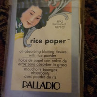 Palladio Rice Paper Powdered Blotting Tissues uploaded by andrea t.