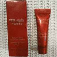 Estée Lauder Nutritious Radiant Vitality 2-in-1 Foam Cleanser uploaded by Christinee Y.