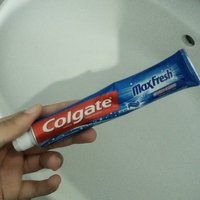 Colgate® MaxFresh® with WHITENING MINI BREATH STRIPS Toothpaste Cool Mint uploaded by tunisienne t.