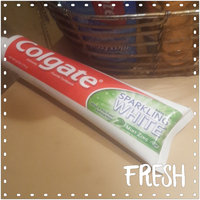 Colgate® Baking Soda SPARKLING WHITE® Toothpaste Mint Zinc Gel uploaded by Patience G.