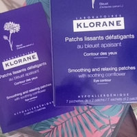 Klorane Smoothing and Relaxing Patches with Cornflower uploaded by Estefany O.