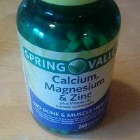 Spring Valley Calcium Magnesium & Zinc Bone Health Dietary Supplement 250 ct uploaded by Ines G.